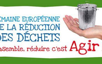 Semaine Européenne de réduction des déchets, du 19 au 27 novembre 2016