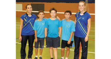 Badminton : premières compétitions pour les Vendômois