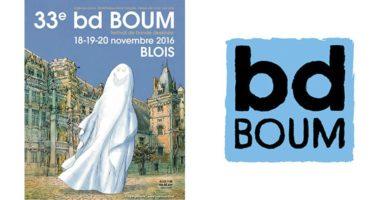 33e édition du Festival bd BOUM à Blois, les 18, 19 et 20 novembre 2016