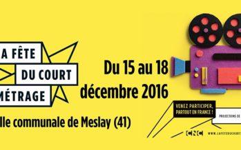 Fête du court-métrage : du 15 au 18 décembre 2016