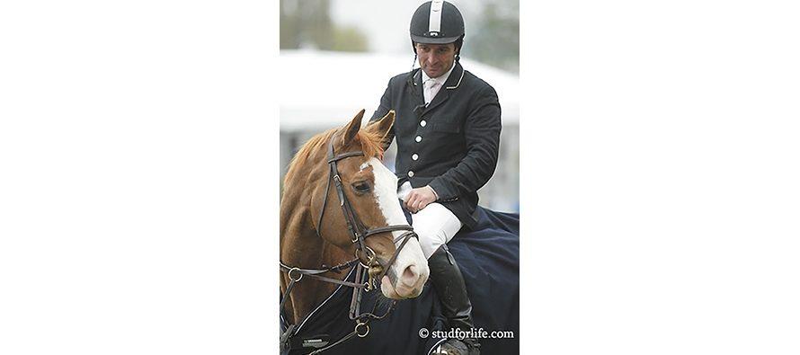 Ludovic Leygue, dimanche 18 décembre 2016, au centre équestre de Naveil Equitation