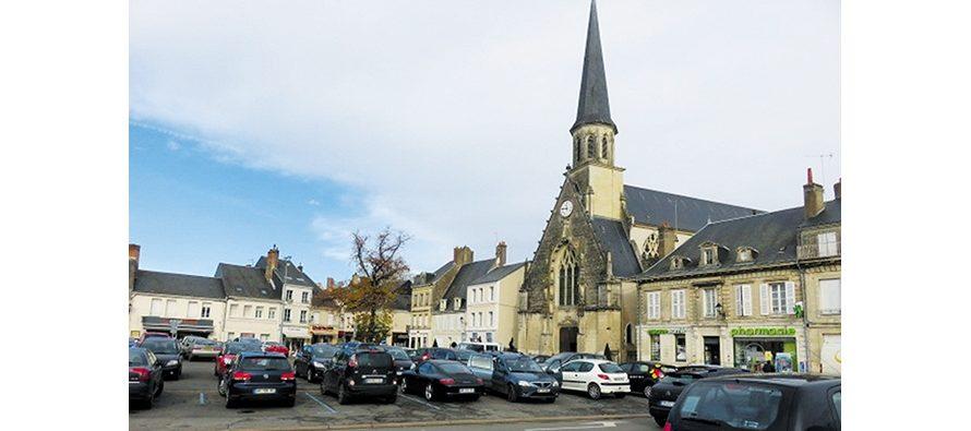 Montoire : réfection de la place Clemenceau