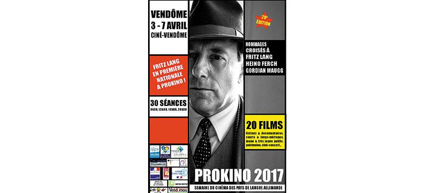 Festival PROKINO, Vendôme, du 3 au 7 avril 2017