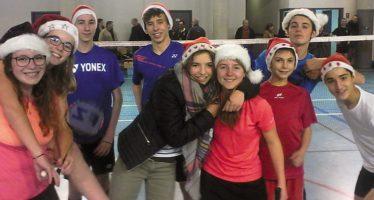 Badminton : c'est encore Noël  pour le CFVV
