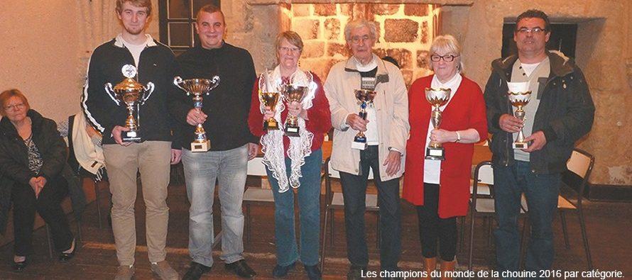 44ème Championnat du monde de la chouine : dimanche 5 mars 2017