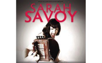 Sarah Savoy en concert samedi 4 février 2017