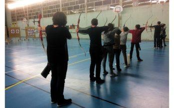 Concours de jeunes archers
