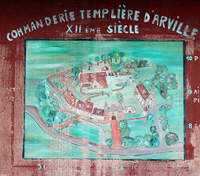 Arville ; commanderies