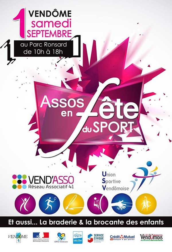 Union Sportive Vendômoise ; USV UA ; Vend'Asso