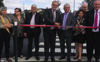 Une avenue totalement rénovée à Mondoubleau
