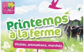 Dimanche 17 avril : Portes ouvertes «Bienvenue à la ferme»