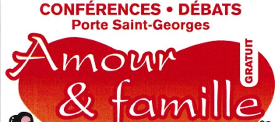 Conférences-débats, Amour et famille