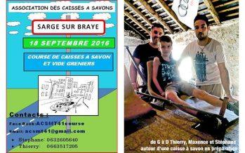 1ère course de caisses à savon à Sargé sur Braye