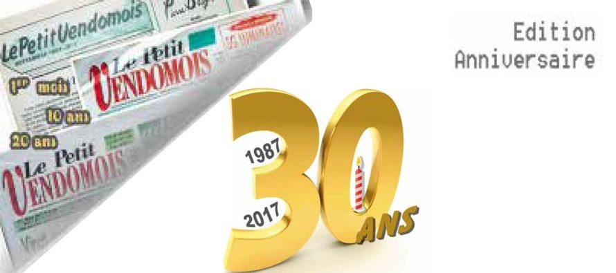 1987-2017 : Le Petit Vendômois a 30 ans !