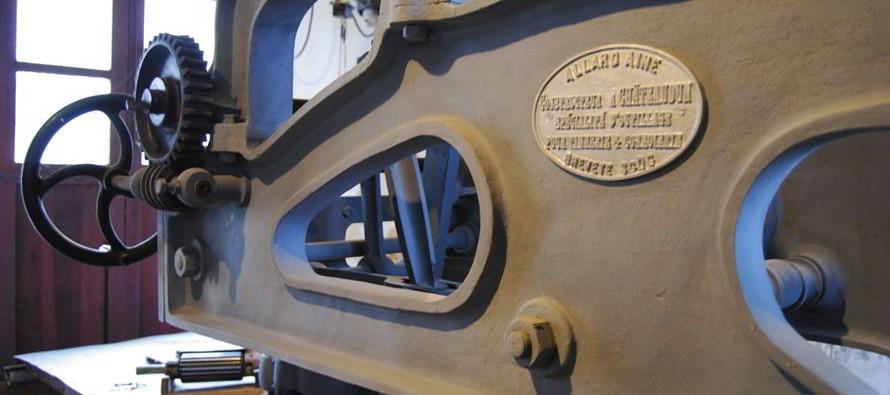Le musée du cuir et de la tannerie dans l'usine Peltereau-Tenneson 1985-2015