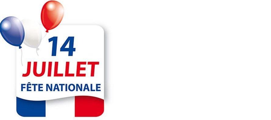 14 juillet : Fête Nationale Française
