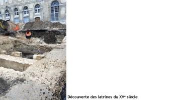 Fin des fouilles au Quartier Rochambeau