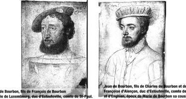 François Ier et les Bourbon-Vendôme