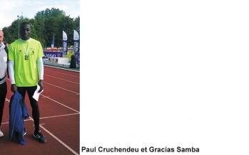 Sélectionné en équipe de France Athlétisme