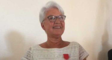 Jacqueline Dumas reçoit la Légion d'honneur