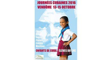 Journées Cubaines les 13, 14 et et 15 octobre 2016, à Vendôme