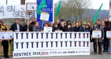 Grèves dans les établissements scolaires