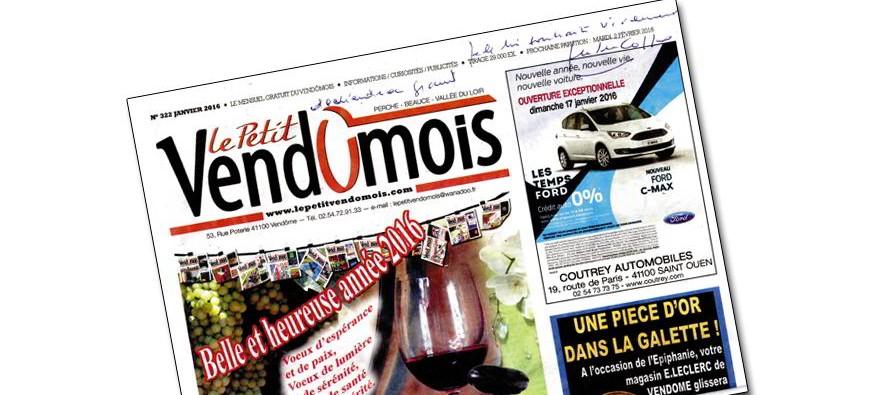 Avec la disparition de Jean-Pierre COFFE, Le Petit Vendômois perd un fidèle lecteur et supporter