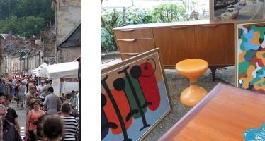 «Puces Antiquités Artistes», dimanche 3 juillet à La Chartre-sur-le-Loir (72)