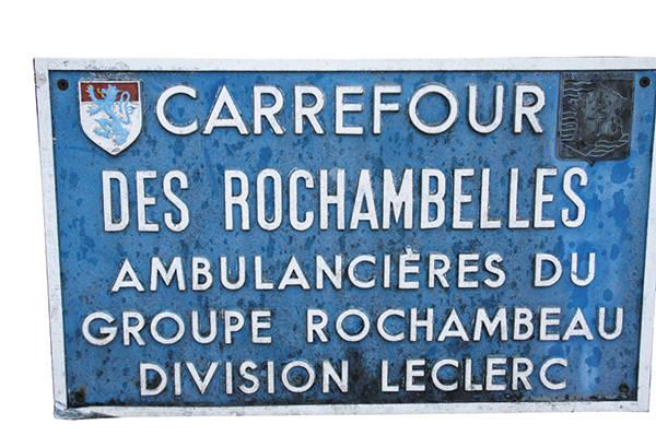 Rochambelles ; Maréchal de Rochambeau ; Rochambeau