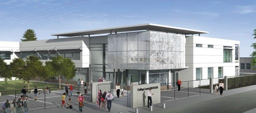Projet de rénovation pour le collège Louis-Pasteur à Morée