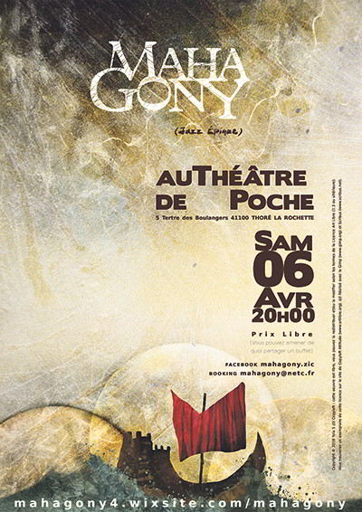 Thoré la Rochette ; Mahagony ; jazz ; Archipelic