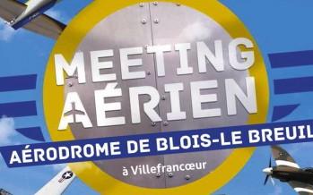 1er meeting Aérien à la base de  Blois-Le Breuil
