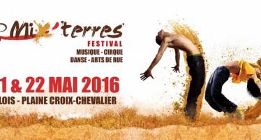 Mix'Terres 2016 : 10 ans de festivités! Les 21 et 22 mai à Blois