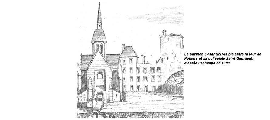 Château de Vendôme : le pavillon de César