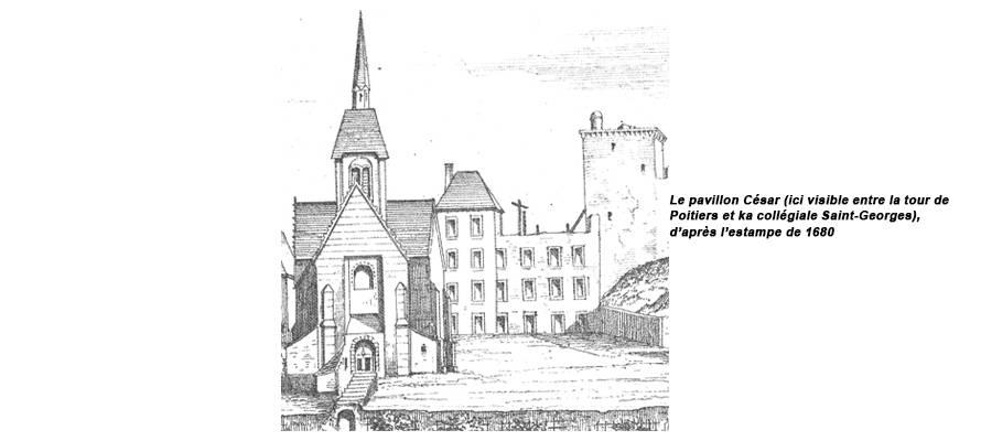 château de Vendôme ; pavillon de César