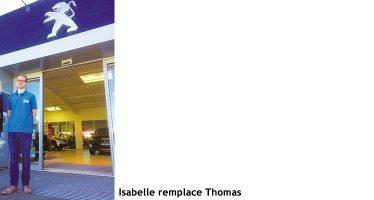 Du changement chez Peugeot Vendôme