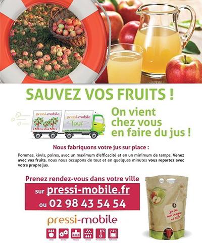 Saint Firmin des Prés ; pressi-mobile