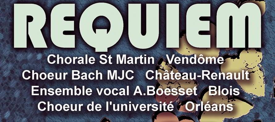 Requiem de Mozart Dimanche 22 novembre, Vendôme, église de la Madeleine