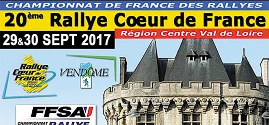 rallye cœur de france ; championnat de france
