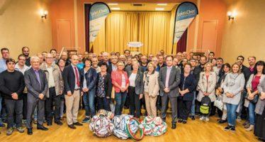 Remise de matériel aux clubs sportifs à Herbault