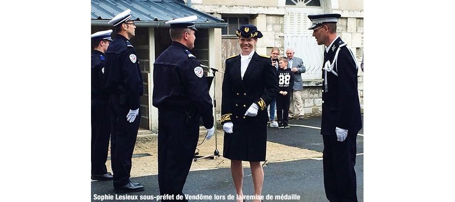Commémoration aux policiers morts pour la France