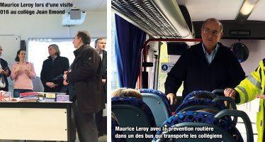 La rentrée scolaire avec Maurice Leroy