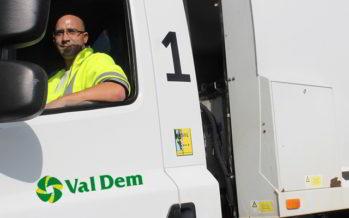 Chauffeur chez Val Dem