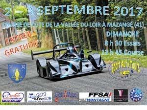 11e course de côte ; Sport auto Tours ; Vallée du Loir