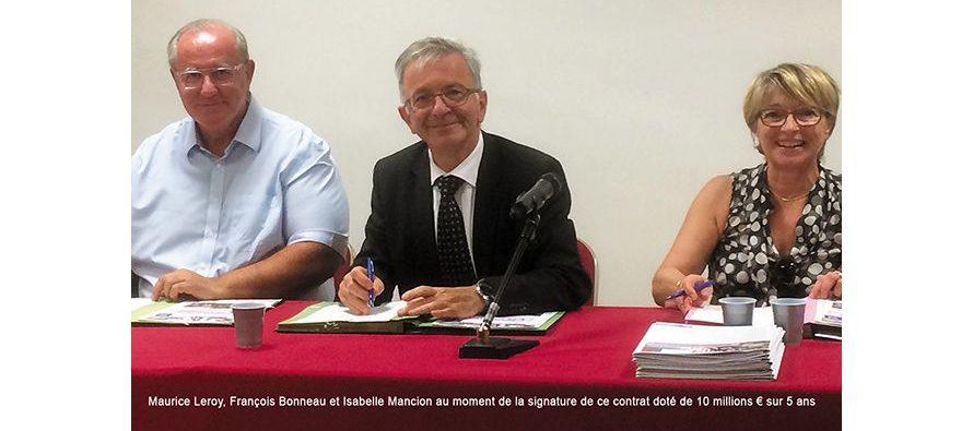 2016-2021, 10millions d'€ de projets pour le Pays Vendômois