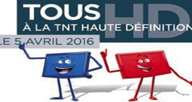 Le 5 avril 2016,  la TNT passe en haute définition. Soyez prêts !