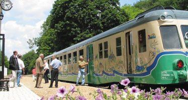 Découvrez la vallée du Loir avec le train touristique