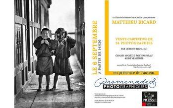 Vente caritative de 24 photographies