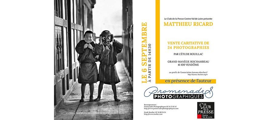 Vente caritative de 24 photographies