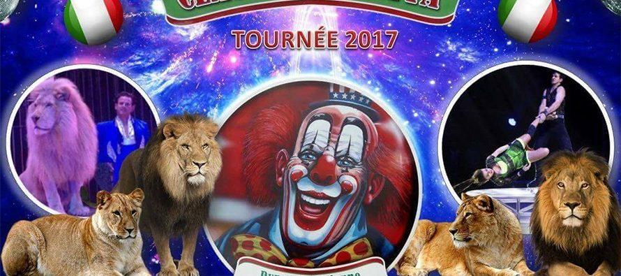 Cirque Claudio Zavatta : du 10 au 18 juin 2017 à Vendôme !